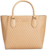 Calvin Klein Quilted Leather Shopper