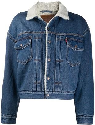 Levi's New Heritage Sherpa denim jacket