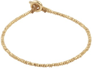 M. Cohen 18k Gold Mini Bead Bracelet