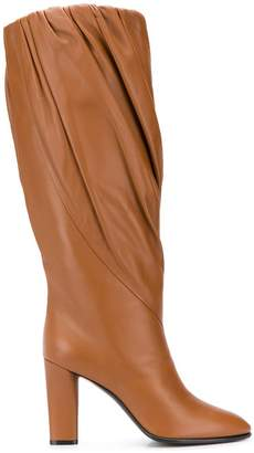 Givenchy twisted knee-high boots