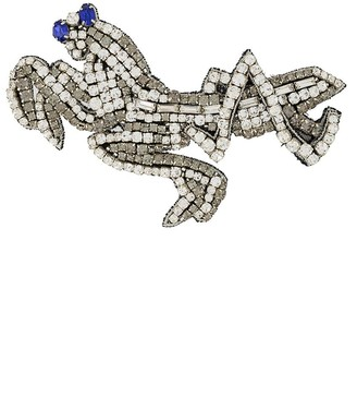 Rochas Embellished Brooch