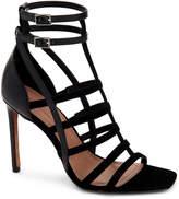 BCBGMAXAZRIA Ilsa Caged Strappy Leather Sandals