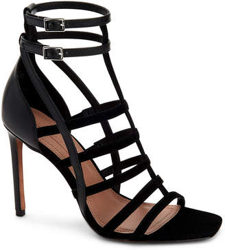 BCBGMAXAZRIA Ilsa Caged Strappy Leather Sandals