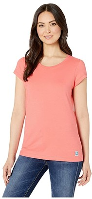 Fjallraven Greenland T-Shirt (Peach Pink) Women's T Shirt
