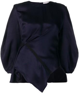 Palmer Harding Palmer / Harding gathered waist blouse