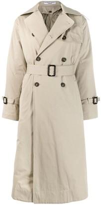 Katharine Hamnett Double Breasted Trench Coat