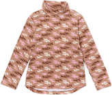 E-Land Kids Soft Sand Horse Turtleneck - Toddler & Girls