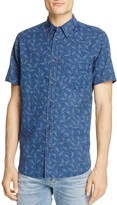 Rails Carson Bisbee-Print Regular Fit Button-Down Shirt