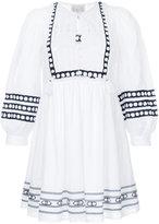 Sea lace bib day dress