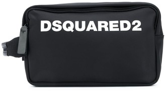 DSQUARED2 Logo Print Wash Bag