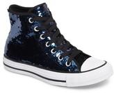 Converse Women's Chuck Taylor All Star Sequin High Top Sneaker