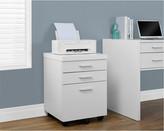 Monarch Three-Drawer File Cabinet