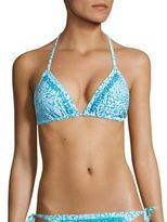 MICHAEL Michael Kors Beaded Double Tunnel Bikini Top