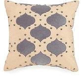 Jessica Simpson Puebla Studded Velvet-Appliqu d Square Pillow
