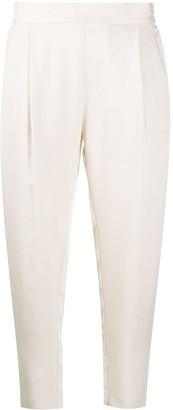 AllSaints Tapered Leg Pleat Detail Trousers