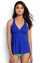 Classic Women's Swing Tankini Top-Electric Blue