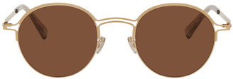 Maison Margiela Gold Mykita Edition MMCRAFT014 Sunglasses