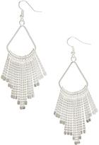 Carole Silvertone Dangle Drop Earrings