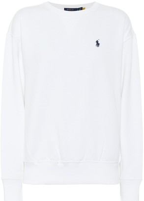 Polo Ralph Lauren Cotton-blend fleece sweatshirt