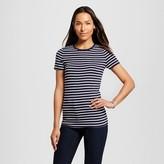 Merona Women's Striped Ultimate Crew Tee