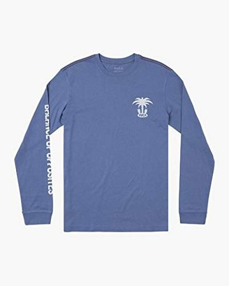 RVCA Men's Oasis Long Sleeve Crew Neck T-Shirt