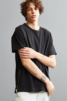 Urban Outfitters Rooney Side Zip Tee