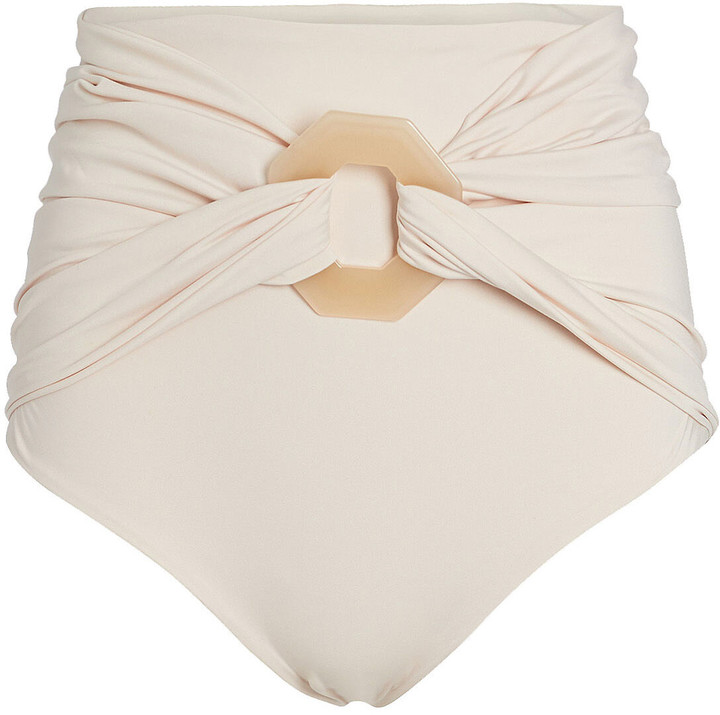 Johanna Ortiz Mangrove Belted Bikini Bottoms