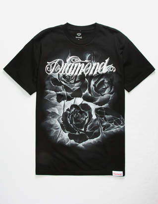 Diamond Supply Co. Giant Script Blossom Black Mens T-Shirt
