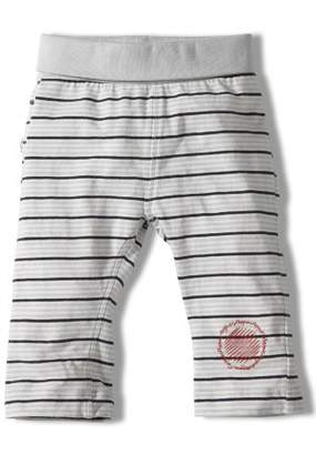 Noppies 14109 Unisex Baby Clothes/Trousers Striped Bead - White - 0-3 Months