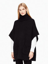 Kate Spade Alpaca cape sweater