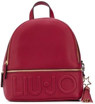 Liu Jo Logo-Embossed Backpack