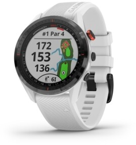 Garmin Unisex Approach S62 White Silicone Strap Touchscreen Smart Watch 47mm