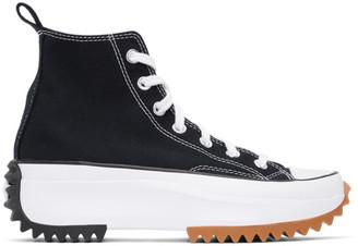 Converse Black Run Star Hike Hi Sneakers