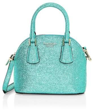 Kate Spade Sylvia Glitter Dome Mini Bag
