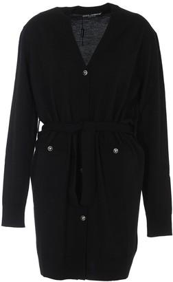 Dolce & Gabbana Long Belted Cardigan