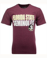 Colosseum Men's Florida State Seminoles Wordmark Stack T-Shirt