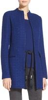 St. John Knit Funnel Jacket