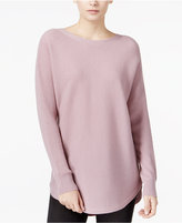Bar III Ribbed High-Low Sweater, Only at Macy's