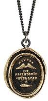 Pyrrha Unisex Bronze Wings of Friendship Talisman Necklace