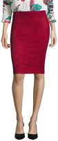 Liz Claiborne Faux SuedePencil Skirt Talls