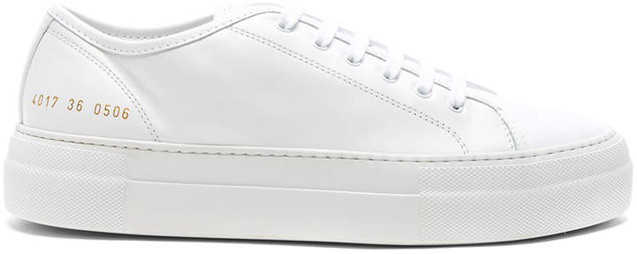 Common Projects Leather Tournament Low Super