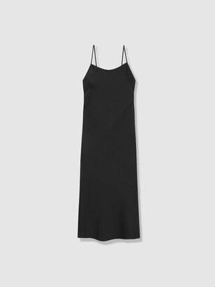 Low Back Bias Maxi Dress