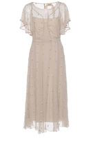N°21 N21 Embroidered Silk Dress
