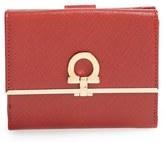 Salvatore Ferragamo 'French Icona' Saffiano Calfskin Leather Wallet