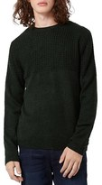 Topman Men's Textured Crewneck Sweater