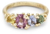 Ruth Tomlinson Four Stone Sapphire Ring with Granules