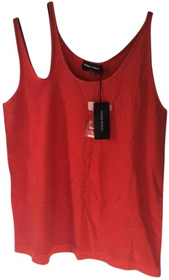 Sonia Rykiel Red Cotton Top for Women