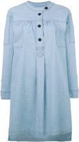 Etoile Isabel Marant button-top denim shirt dress - women - Cotton/Elastodiene - 38