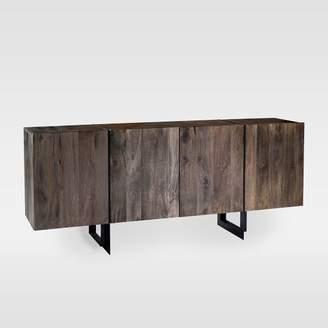 west elm Modern Solid Wood + Iron Buffet