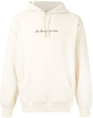 Supreme le luxe hoodie